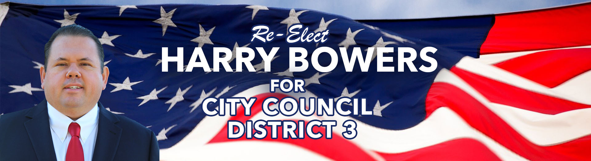Harry Bowers for District 3